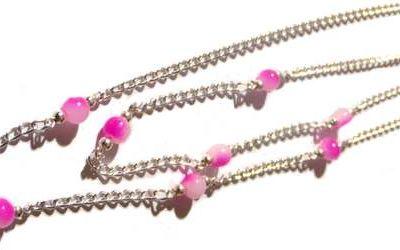 Comment garnir une chaîne avec nos perles connecteurs ?